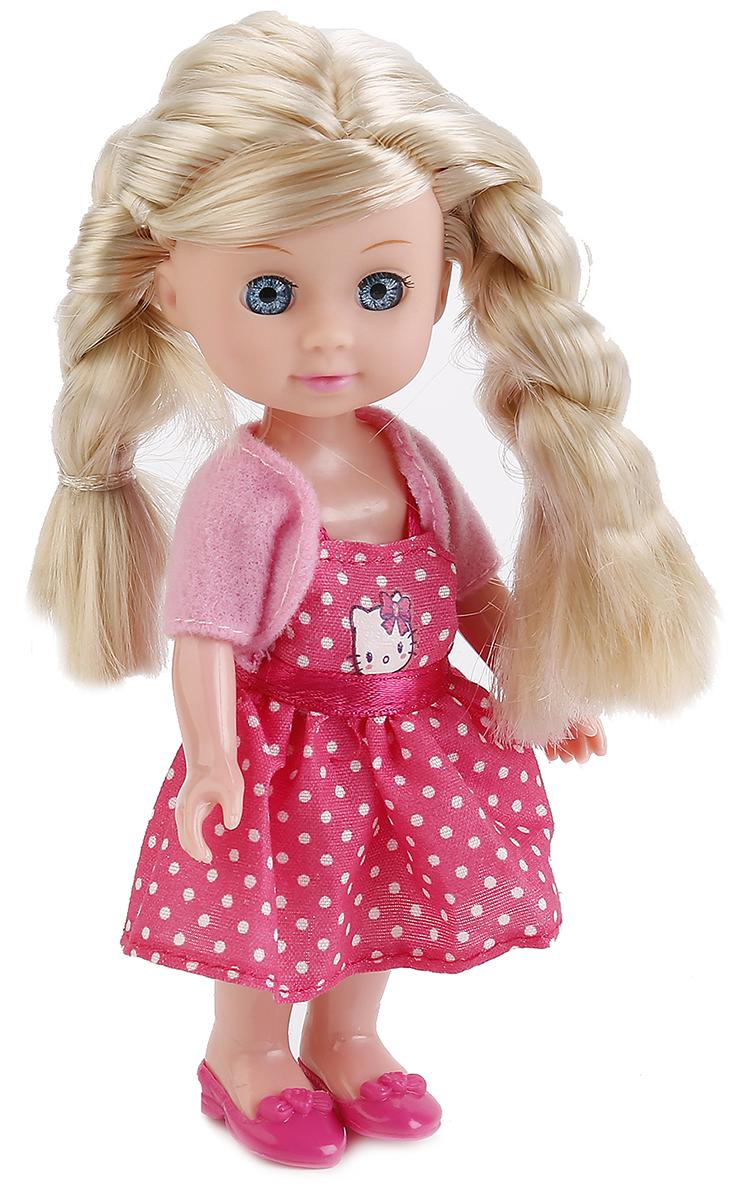 Карапуз Пупс Hello Kitty Машенька цвет платья розовый