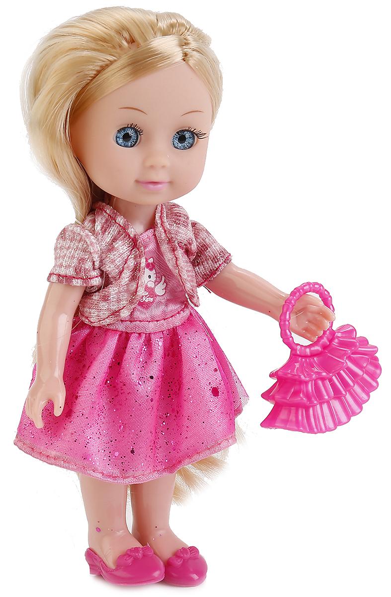 Карапуз Пупс Hello Kitty Машенька с аксессуарами и набром одежды куклы карапуз кукла карапуз принцесса рапунцель 25 см