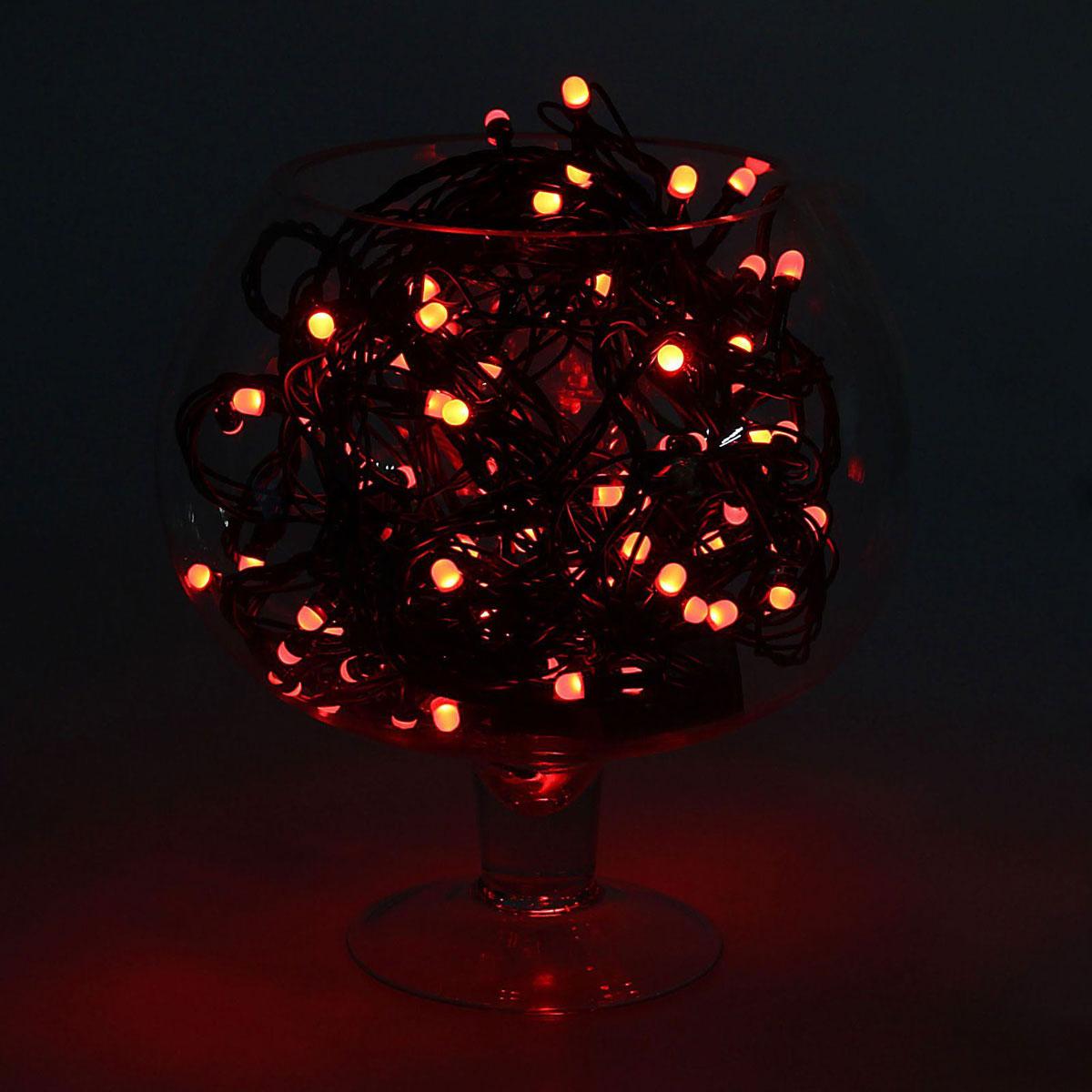 Гирлянда светодиодная Luazon Метраж, уличная, 50 ламп, 220 V, 5 м, цвет: мультиколор. 10800161080016Светодиодные гирлянды, ленты и т.д. — это отличный вариант для новогоднего оформления интерьера или фасада. С их помощью помещение любого размера можно превратить в праздничный зал, а внешние элементы зданий, украшенные ими, мгновенно станут напоминать очертания сказочного дворца. Такие украшения создают ауру предвкушения чуда. Деревья, фасады, витрины, окна и арки будто специально созданы, чтобы вы украсили их светящимися нитями.