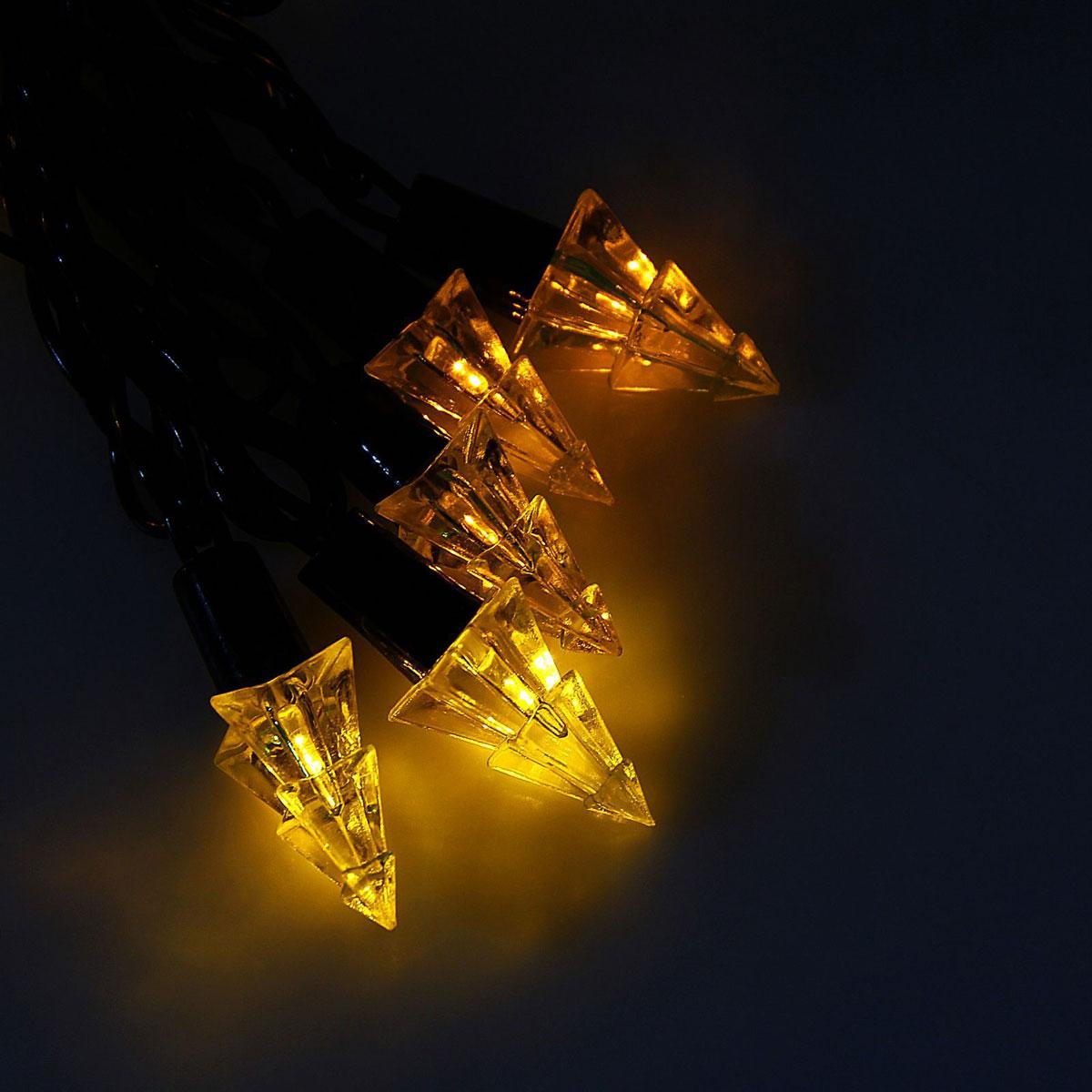 Гирлянда светодиодная Luazon Метраж. Елка маленькая, уличная с насадкой, 8 режимов, 40 ламп, 220 V, 5 м, цвет: желтый. 10800941080094Светодиодные гирлянды, ленты и т.д. — это отличный вариант для новогоднего оформления интерьера или фасада. С их помощью помещение любого размера можно превратить в праздничный зал, а внешние элементы зданий, украшенные ими, мгновенно станут напоминать очертания сказочного дворца. Такие украшения создают ауру предвкушения чуда. Деревья, фасады, витрины, окна и арки будто специально созданы, чтобы вы украсили их светящимися нитями.