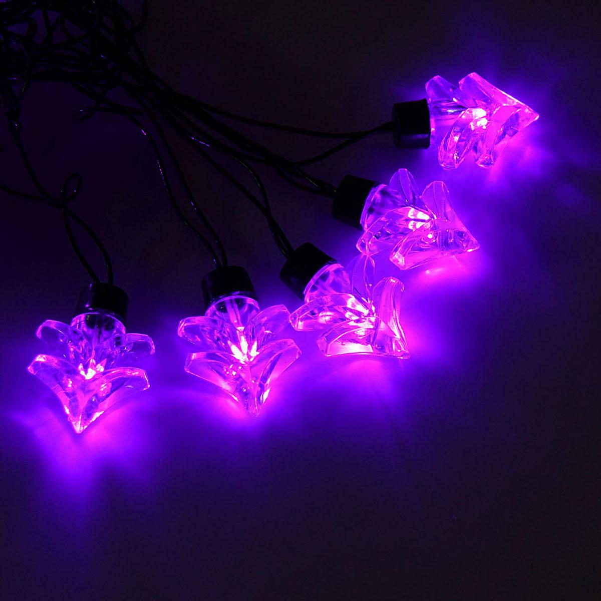 Гирлянда светодиодная Luazon Метраж. Ель большая, уличная с насадкой, 8 режимов, 30 ламп, 220 V, 5 м, цвет: фиолетовый. 10801311080131Светодиодные гирлянды, ленты и т.д. — это отличный вариант для новогоднего оформления интерьера или фасада. С их помощью помещение любого размера можно превратить в праздничный зал, а внешние элементы зданий, украшенные ими, мгновенно станут напоминать очертания сказочного дворца. Такие украшения создают ауру предвкушения чуда. Деревья, фасады, витрины, окна и арки будто специально созданы, чтобы вы украсили их светящимися нитями.