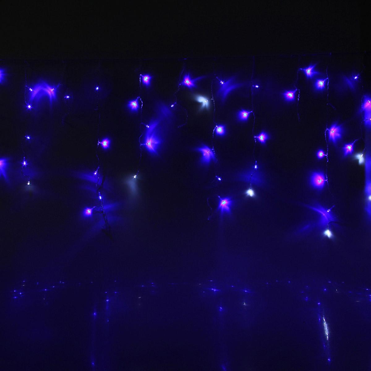 Гирлянда светодиодная Luazon Бахрома. Арка, эффект мерцания, 126 ламп, 220 V, 1 х 1 м. 10804381080438Светодиодные гирлянды, ленты и т.д — это отличный вариант для новогоднего оформления интерьера или фасада. С их помощью помещение любого размера можно превратить в праздничный зал, а внешние элементы зданий, украшенные ими, мгновенно станут напоминать очертания сказочного дворца. Такие украшения создают ауру предвкушения чуда. Деревья, фасады, витрины, окна и арки будто специально созданы, чтобы вы украсили их светящимися нитями.