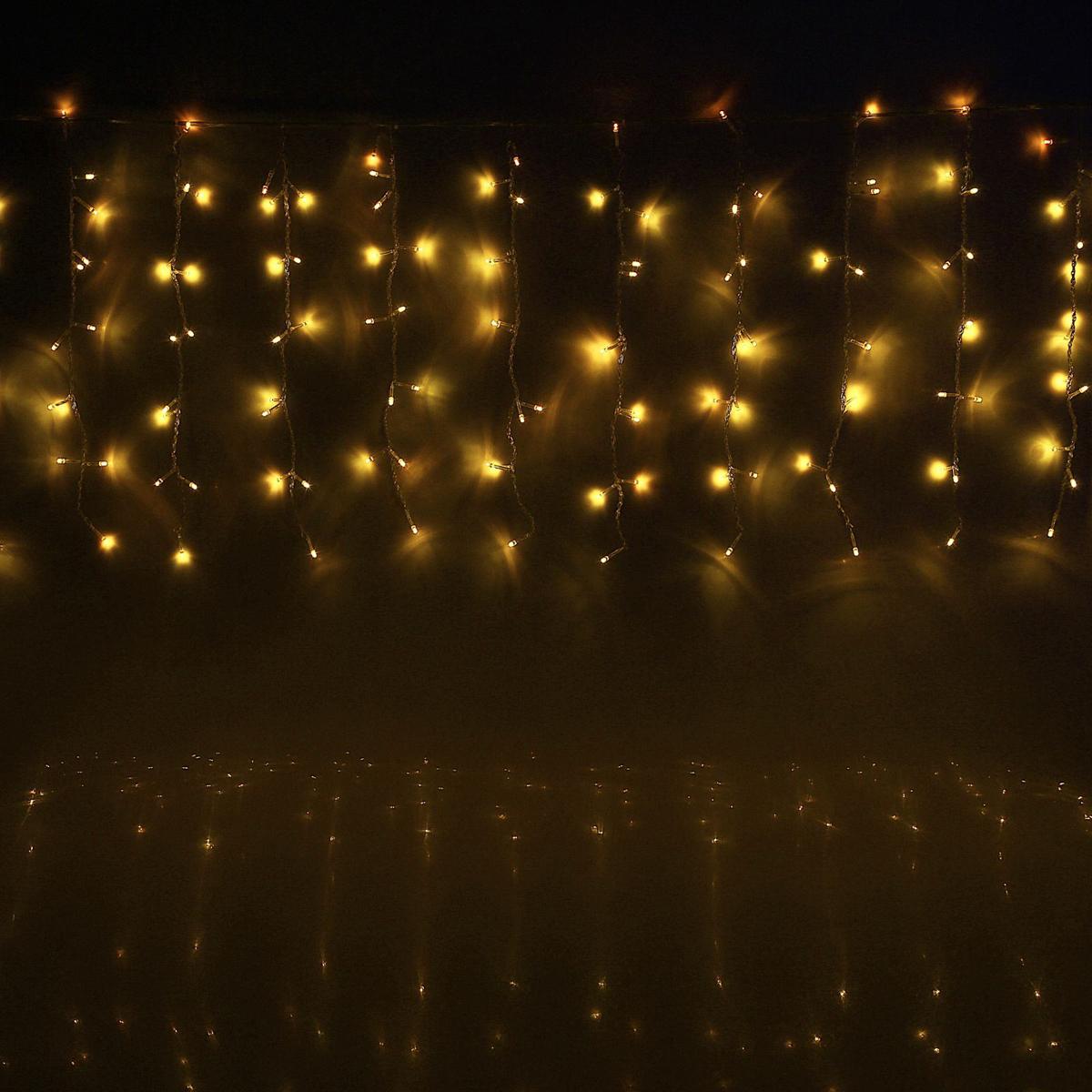 Гирлянда светодиодная Luazon Занавес, цвет: желтый, 180 ламп, 8 режимов, 220 V, 1,5 х 1 м. 10804571080457Светодиодные гирлянды и ленты — это отличный вариант для новогоднего оформления интерьера или фасада. С их помощью помещение любого размера можно превратить в праздничный зал, а внешние элементы зданий, украшенные ими, мгновенно станут напоминать очертания сказочного дворца. Такие украшения создают ауру предвкушения чуда. Деревья, фасады, витрины, окна и арки будто специально созданы, чтобы вы украсили их светящимися нитями.