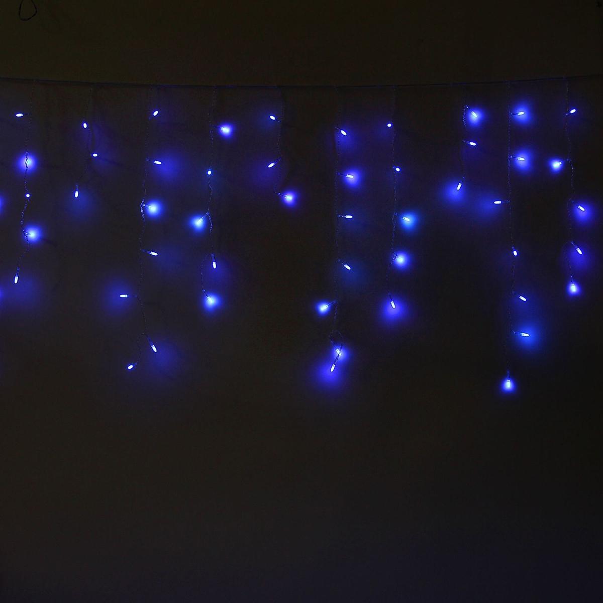 Гирлянда светодиодная Luazon Бахрома. Игла, 8 режимов, 60 ламп, 220 V, цвет: синий, 1,2 х 0,6 м. 10805321080532Светодиодные гирлянды, ленты и т.д — это отличный вариант для новогоднего оформления интерьера или фасада. С их помощью помещение любого размера можно превратить в праздничный зал, а внешние элементы зданий, украшенные ими, мгновенно станут напоминать очертания сказочного дворца. Такие украшения создают ауру предвкушения чуда. Деревья, фасады, витрины, окна и арки будто специально созданы, чтобы вы украсили их светящимися нитями.