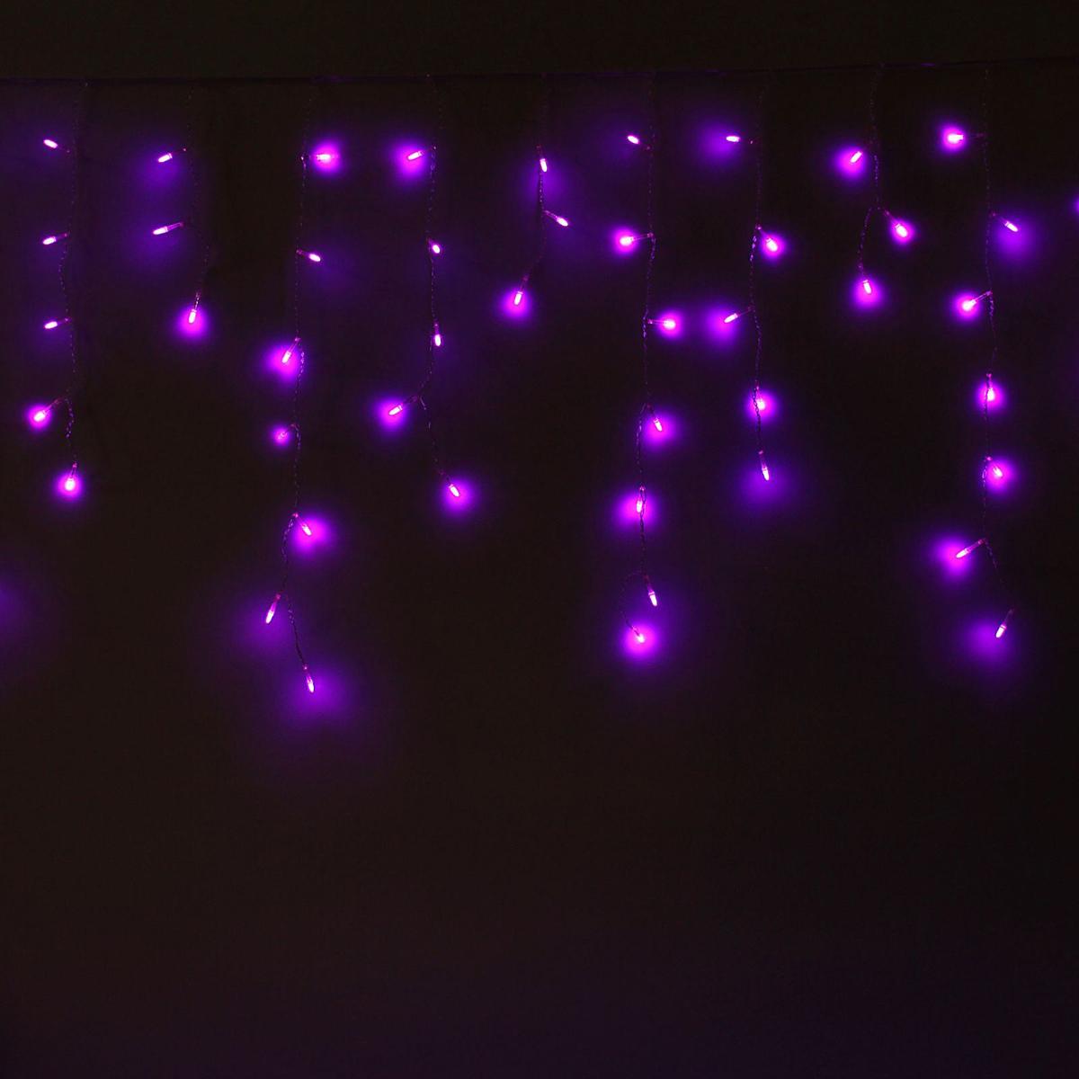 Гирлянда светодиодная Luazon Бахрома. Игла, 8 режимов, 60 ламп, 220 V, цвет: фиолетовый, 1,2 х 0,6 м. 10805361080536Светодиодные гирлянды, ленты и т.д — это отличный вариант для новогоднего оформления интерьера или фасада. С их помощью помещение любого размера можно превратить в праздничный зал, а внешние элементы зданий, украшенные ими, мгновенно станут напоминать очертания сказочного дворца. Такие украшения создают ауру предвкушения чуда. Деревья, фасады, витрины, окна и арки будто специально созданы, чтобы вы украсили их светящимися нитями.