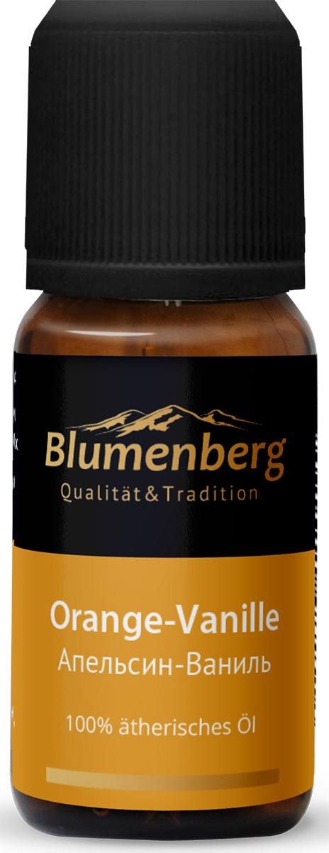 Смесь эфирных масел Blumenberg, апельсин и ваниль, 10 мл224705Нежный запах обволакивает, успокаивает и дарит вдохновение. Сочетание сладкой ванили с горьковатым послевкусием апельсина и теплыми нотками мандарина восстанавливает психологические ресурсы, деликатно бодрит и настраивает на позитивный лад. Аромат стимулирует воображение и пробуждает творческую энергию.