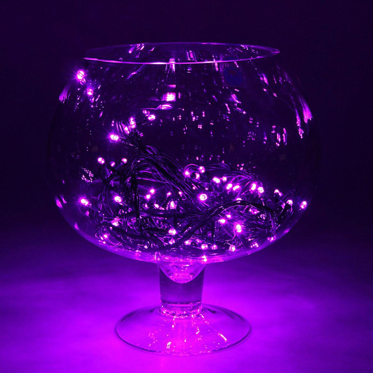 Гирлянда светодиодная Luazon Метраж, цвет: фиолетовый, 180 ламп, 8 режимов, 220 V, длина 15 м. 15857771585777Светодиодные гирлянды и ленты — это отличный вариант для новогоднего оформления интерьера или фасада. С их помощью помещение любого размера можно превратить в праздничный зал, а внешние элементы зданий, украшенные ими, мгновенно станут напоминать очертания сказочного дворца. Такие украшения создают ауру предвкушения чуда. Деревья, фасады, витрины, окна и арки будто специально созданы, чтобы вы украсили их светящимися нитями.