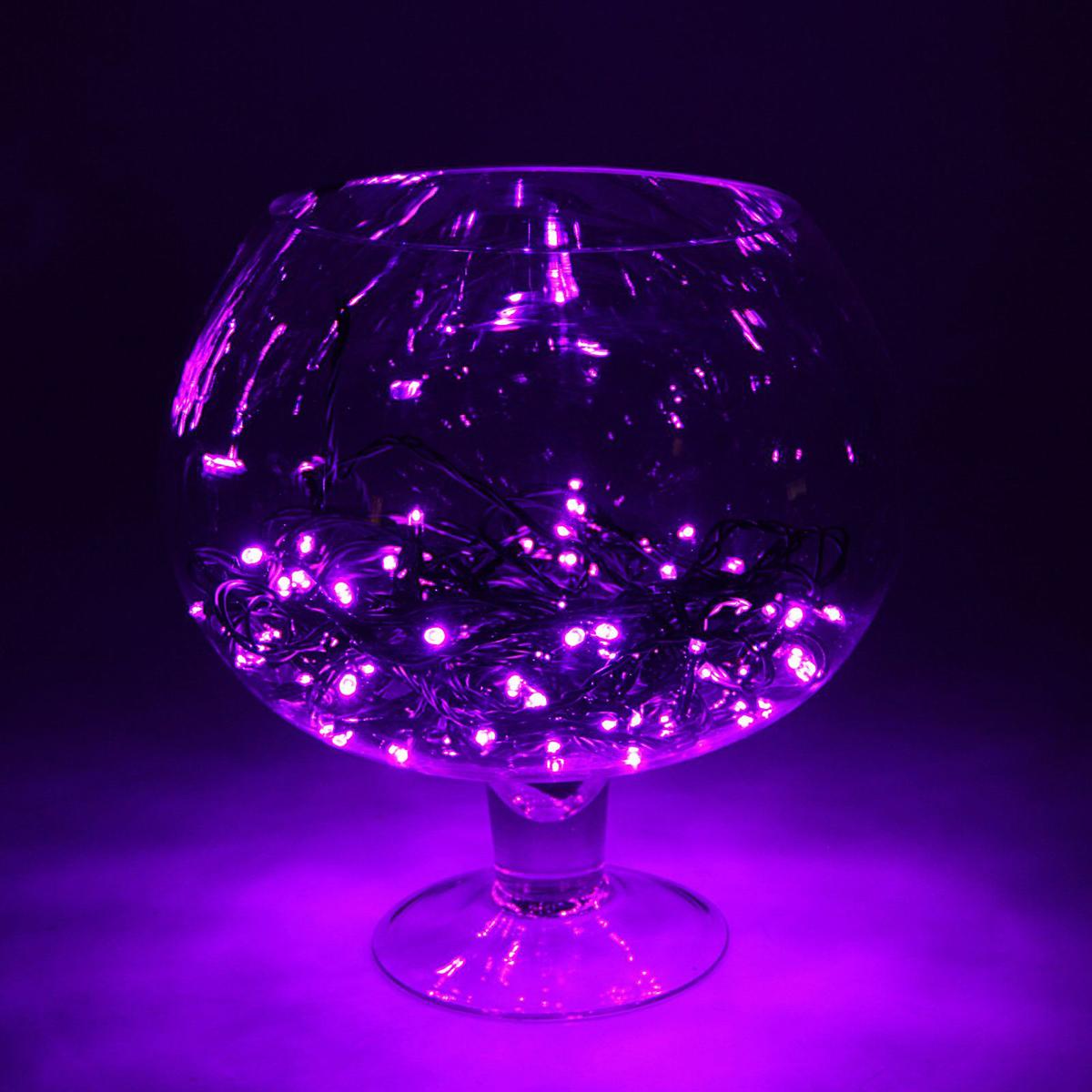 Гирлянда светодиодная Luazon Метраж, уличная, 100 ламп, 24 V, 10 м, цвет: фиолетовый. 15860061586006Светодиодные гирлянды, ленты и т.д. — это отличный вариант для новогоднего оформления интерьера или фасада. С их помощью помещение любого размера можно превратить в праздничный зал, а внешние элементы зданий, украшенные ими, мгновенно станут напоминать очертания сказочного дворца. Такие украшения создают ауру предвкушения чуда. Деревья, фасады, витрины, окна и арки будто специально созданы, чтобы вы украсили их светящимися нитями.