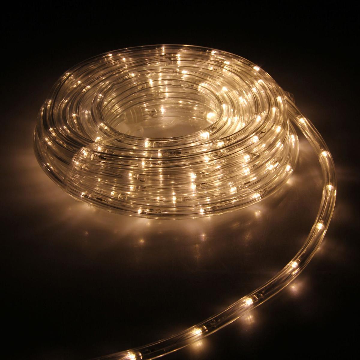 Гирлянда светодиодная Luazon, 240 ламп, 8 режимов, 220 V, цвет: теплый белый, 1 см х 10 м. 15898261589826Светодиодные гирлянды, ленты и т.д — это отличный вариант для новогоднего оформления интерьера или фасада. С их помощью помещение любого размера можно превратить в праздничный зал, а внешние элементы зданий, украшенные ими, мгновенно станут напоминать очертания сказочного дворца. Такие украшения создают ауру предвкушения чуда. Деревья, фасады, витрины, окна и арки будто специально созданы, чтобы вы украсили их светящимися нитями.