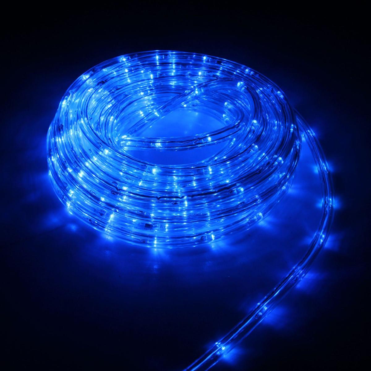 Гирлянда светодиодная Luazon, 240 ламп, 8 режимов, 220 V, цвет: синий, 1 см х 10 м. 15898271589827Светодиодные гирлянды, ленты и т.д — это отличный вариант для новогоднего оформления интерьера или фасада. С их помощью помещение любого размера можно превратить в праздничный зал, а внешние элементы зданий, украшенные ими, мгновенно станут напоминать очертания сказочного дворца. Такие украшения создают ауру предвкушения чуда. Деревья, фасады, витрины, окна и арки будто специально созданы, чтобы вы украсили их светящимися нитями.
