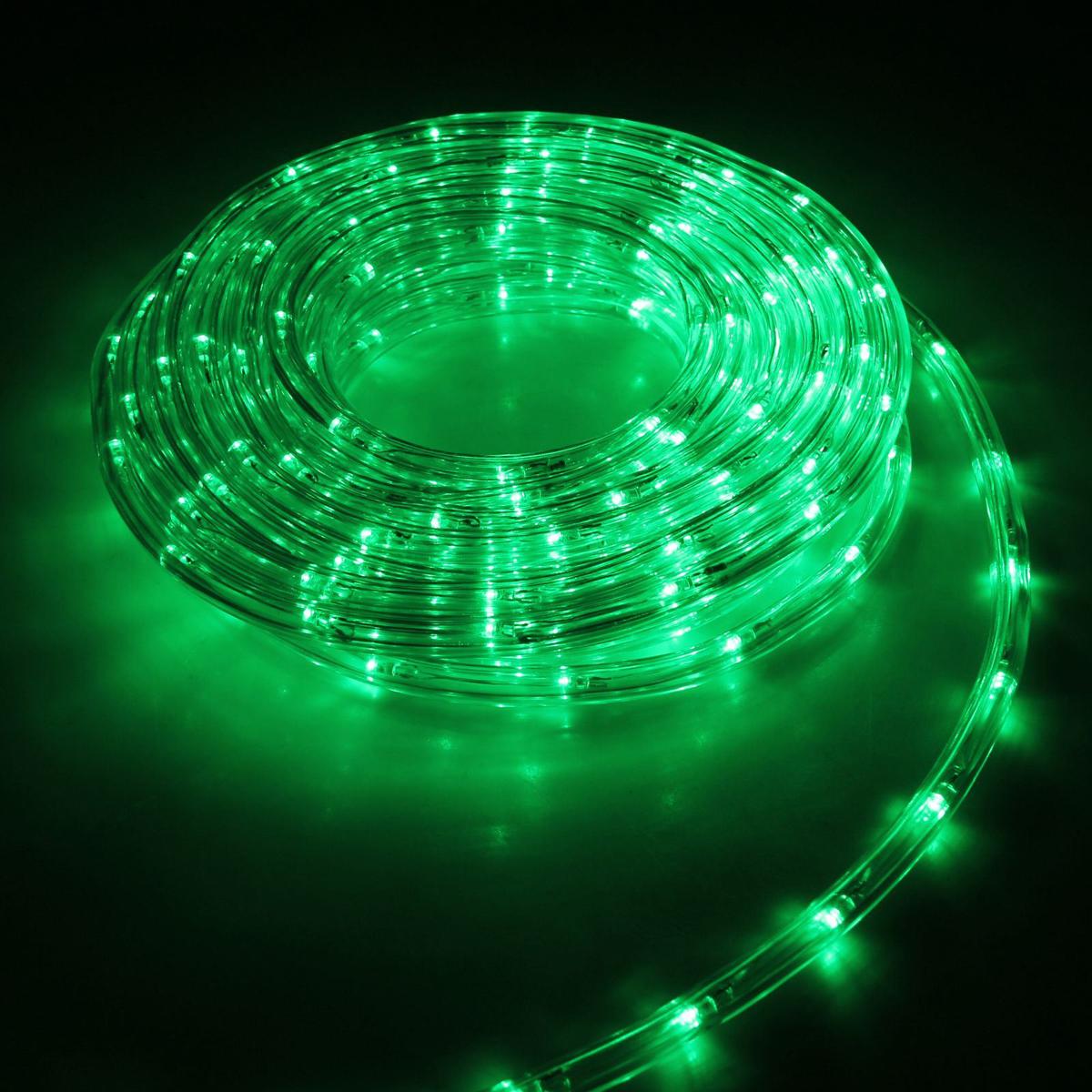 Гирлянда светодиодная Luazon, 240 ламп, 8 режимов, 220 V, цвет: зеленый, 1 см х 10 м. 15898281589828Светодиодные гирлянды, ленты и т.д — это отличный вариант для новогоднего оформления интерьера или фасада. С их помощью помещение любого размера можно превратить в праздничный зал, а внешние элементы зданий, украшенные ими, мгновенно станут напоминать очертания сказочного дворца. Такие украшения создают ауру предвкушения чуда. Деревья, фасады, витрины, окна и арки будто специально созданы, чтобы вы украсили их светящимися нитями.