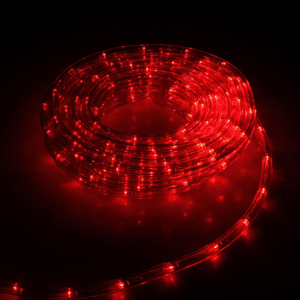 Гирлянда светодиодная Luazon, 240 ламп, 8 режимов, 220 V, цвет: красный, 1 см х 10 м. 15898291589829Светодиодные гирлянды, ленты и т.д — это отличный вариант для новогоднего оформления интерьера или фасада. С их помощью помещение любого размера можно превратить в праздничный зал, а внешние элементы зданий, украшенные ими, мгновенно станут напоминать очертания сказочного дворца. Такие украшения создают ауру предвкушения чуда. Деревья, фасады, витрины, окна и арки будто специально созданы, чтобы вы украсили их светящимися нитями.