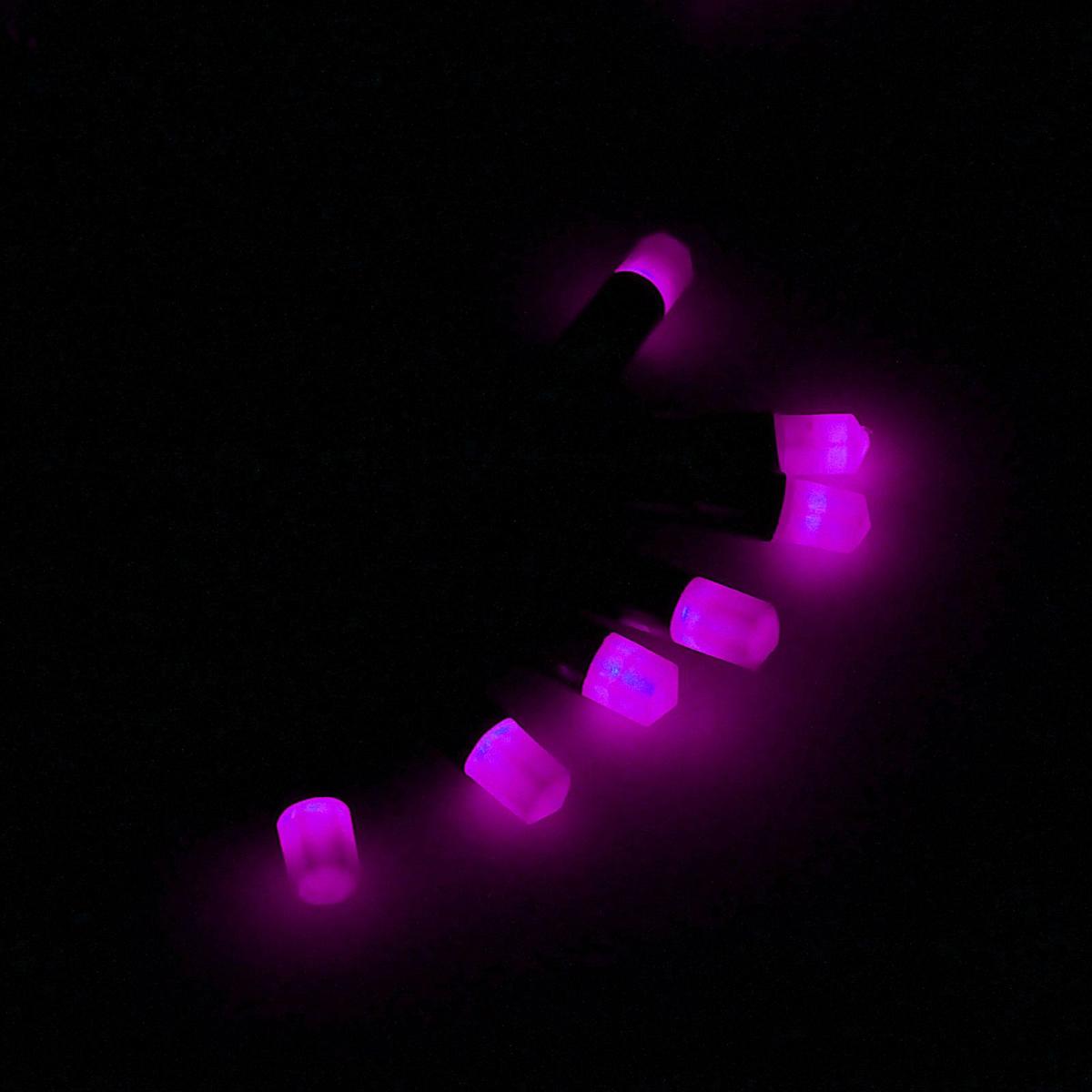 Гирлянда светодиодная Luazon Метраж. Кристаллы, уличная с насадкой, 8 режимов, 40 ламп, 220 V, 5 м, цвет: фиолетовый. 185522185522Светодиодные гирлянды, ленты и т.д. — это отличный вариант для новогоднего оформления интерьера или фасада. С их помощью помещение любого размера можно превратить в праздничный зал, а внешние элементы зданий, украшенные ими, мгновенно станут напоминать очертания сказочного дворца. Такие украшения создают ауру предвкушения чуда. Деревья, фасады, витрины, окна и арки будто специально созданы, чтобы вы украсили их светящимися нитями.