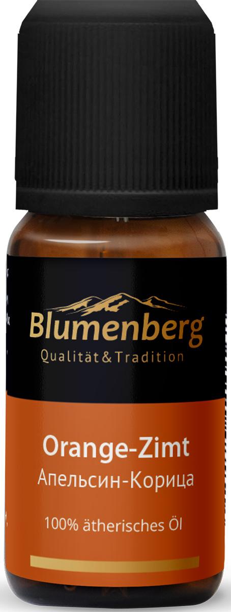 Смесь эфирных масел  Blumenberg , апельсин и корица, 10 мл