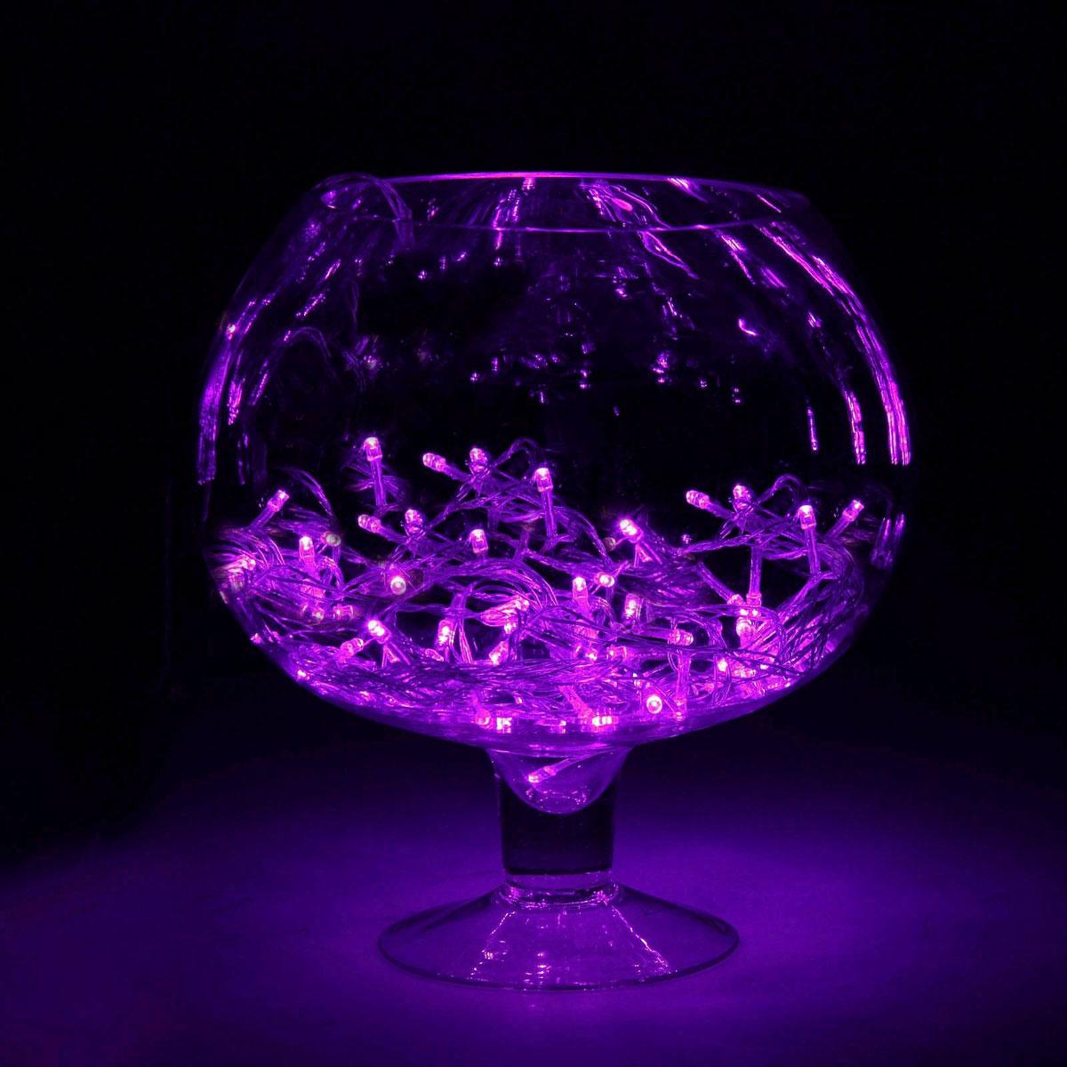 Гирлянда светодиодная Luazon Метраж, цвет: фиолетовый, 150 ламп, 8 режимов, 220 V, длина 13 м. 187165187165Светодиодные гирлянды и ленты — это отличный вариант для новогоднего оформления интерьера или фасада. С их помощью помещение любого размера можно превратить в праздничный зал, а внешние элементы зданий, украшенные ими, мгновенно станут напоминать очертания сказочного дворца. Такие украшения создают ауру предвкушения чуда. Деревья, фасады, витрины, окна и арки будто специально созданы, чтобы вы украсили их светящимися нитями.