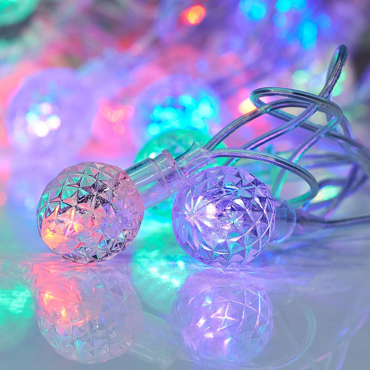 Гирлянда светодиодная Luazon Метраж. Фонарики, 20 ламп, 220 V, длина 5 м671582Светодиодные гирлянды и ленты — это отличный вариант для новогоднего оформления интерьера или фасада. С их помощью помещение любого размера можно превратить в праздничный зал, а внешние элементы зданий, украшенные ими, мгновенно станут напоминать очертания сказочного дворца. Такие украшения создают ауру предвкушения чуда. Деревья, фасады, витрины, окна и арки будто специально созданы, чтобы вы украсили их светящимися нитями.