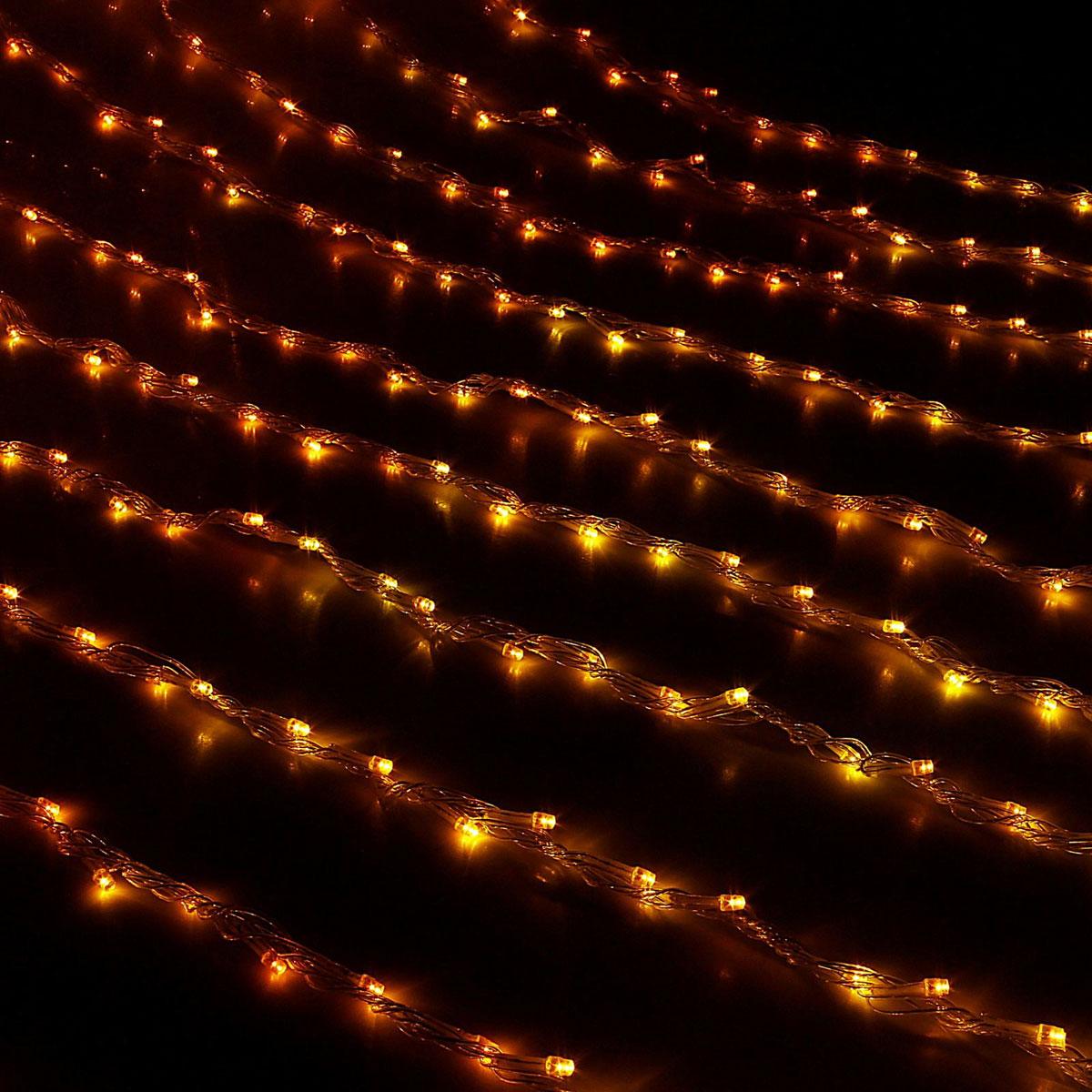 Гирлянда светодиодная Luazon Дождь, 8 режимов, 300 ламп, 220 V, 1,5 х 1 м, цвет: желтый. 671635671635Гирлянда светодиодная Дождь - это отличный вариант для новогоднего оформления интерьера или фасада. С ее помощью помещение любого размера можно превратить в праздничный зал, а внешние элементы зданий, украшенные гирляндой, мгновенно станут напоминать очертания сказочного дворца. Такое украшение создаст ауру предвкушения чуда. Деревья, фасады, витрины, окна и арки будто специально созданы, чтобы вы украсили их светящимися нитями.