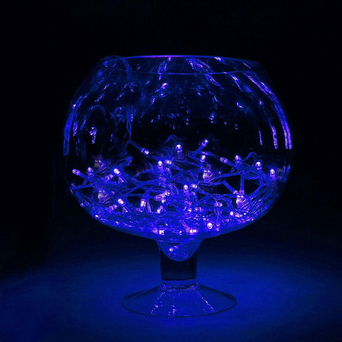 Гирлянда светодиодная Luazon Метраж, цвет: синий, 150 ламп, 8 режимов, 220 V, длина 13 м. 705987705987Светодиодные гирлянды и ленты — это отличный вариант для новогоднего оформления интерьера или фасада. С их помощью помещение любого размера можно превратить в праздничный зал, а внешние элементы зданий, украшенные ими, мгновенно станут напоминать очертания сказочного дворца. Такие украшения создают ауру предвкушения чуда. Деревья, фасады, витрины, окна и арки будто специально созданы, чтобы вы украсили их светящимися нитями.