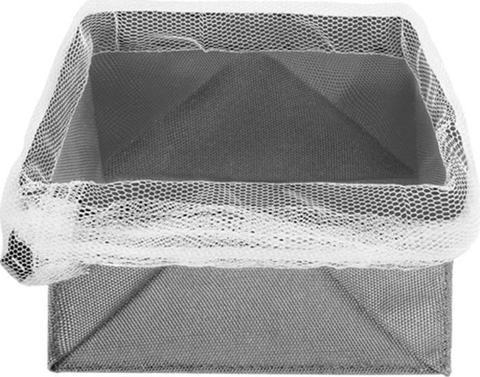 Сетка для хранения продуктов Metaltex, цвет: стальной, до 1 кг23.51.20Сетка для хранения продуктов идеально подходит для хранения овощей (чеснока, лука, картофеля), а также для фруктов и хлеба. Изготовлена из дышащей ткани, стягивается сетчатым шнурком и фиксируется пластиковым зажимом. Сетку можно использовать как корзину или подвесить в удобном для вас месте. Сетка легко складывается, стирается. Материал: полиэфир 90% и полиамид 10%. Максимальный вес с продуктами: 1 кг.