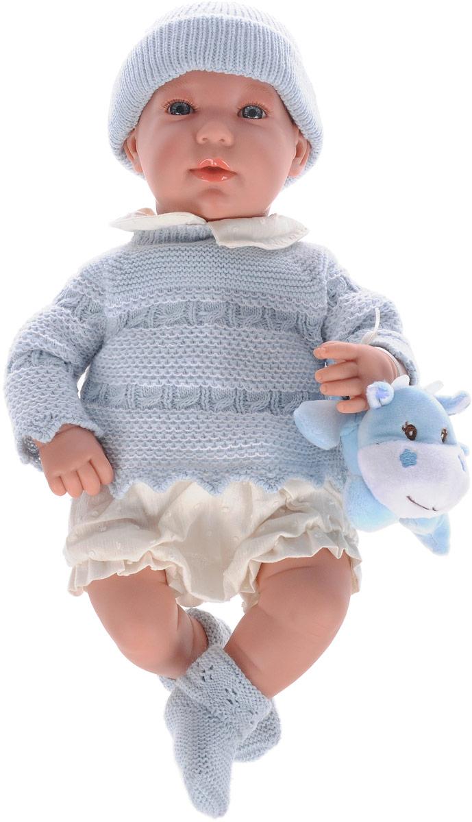 Arias Пупс Elegance цвет одежды голубой Т11120 arias пупс цвет платья белый розовый 42 см т59289