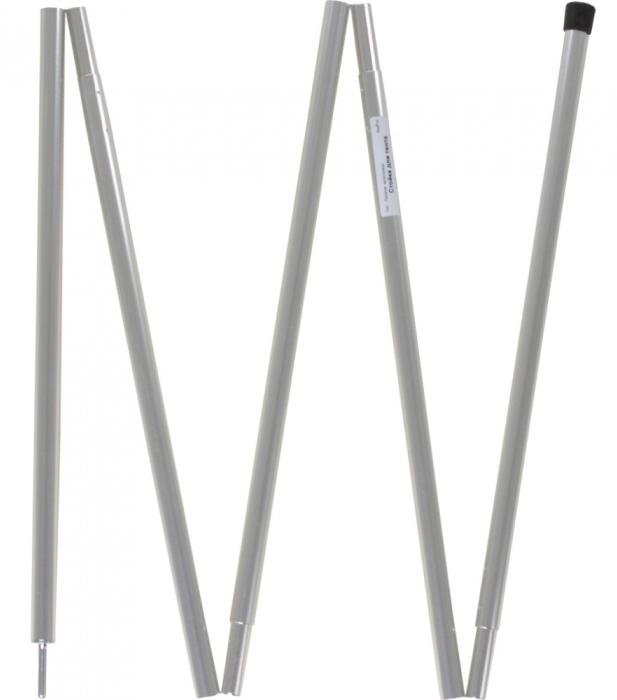 Стойка для тента Red Fox, цвет: серый61-312-0000Стойка для растяжки тента. Пластиковый упор. Стальной наконечник сверху.Материал: Алюминий/ Aluminium6061-T6Вес, г: 365Длина, м: 2