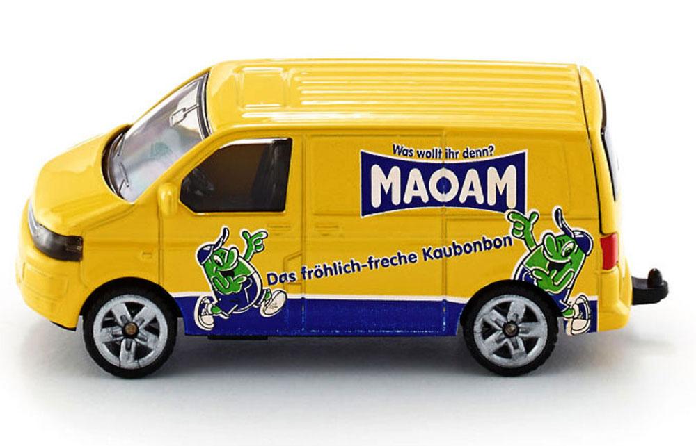 Siku Модель автомобиля Volkswagen Transporter цвет желтый volkswagen transporter в москве б у
