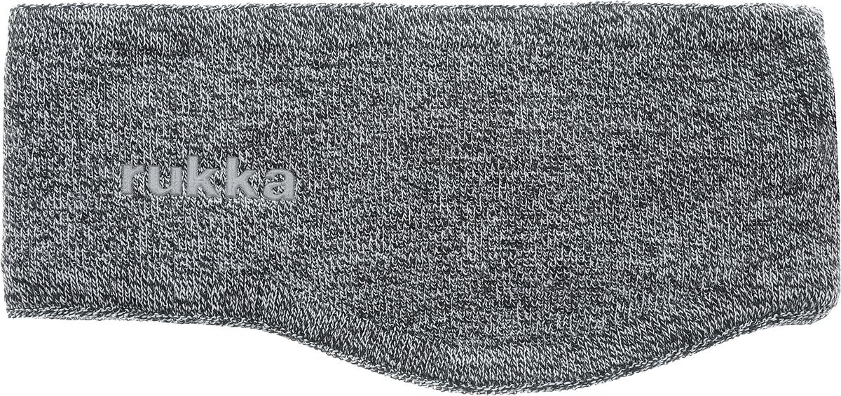 Повязка на голову женская Rukka, цвет: серый. 870687790RV-899. Размер M (56)870687790RV-899Теплая повязка на голову Rukka изготовлена из шерсти и акрила, обеспечит максимальный комфорт благодаря качественному материалу. Повязка оформлена вышивкой логотипа Rukka.