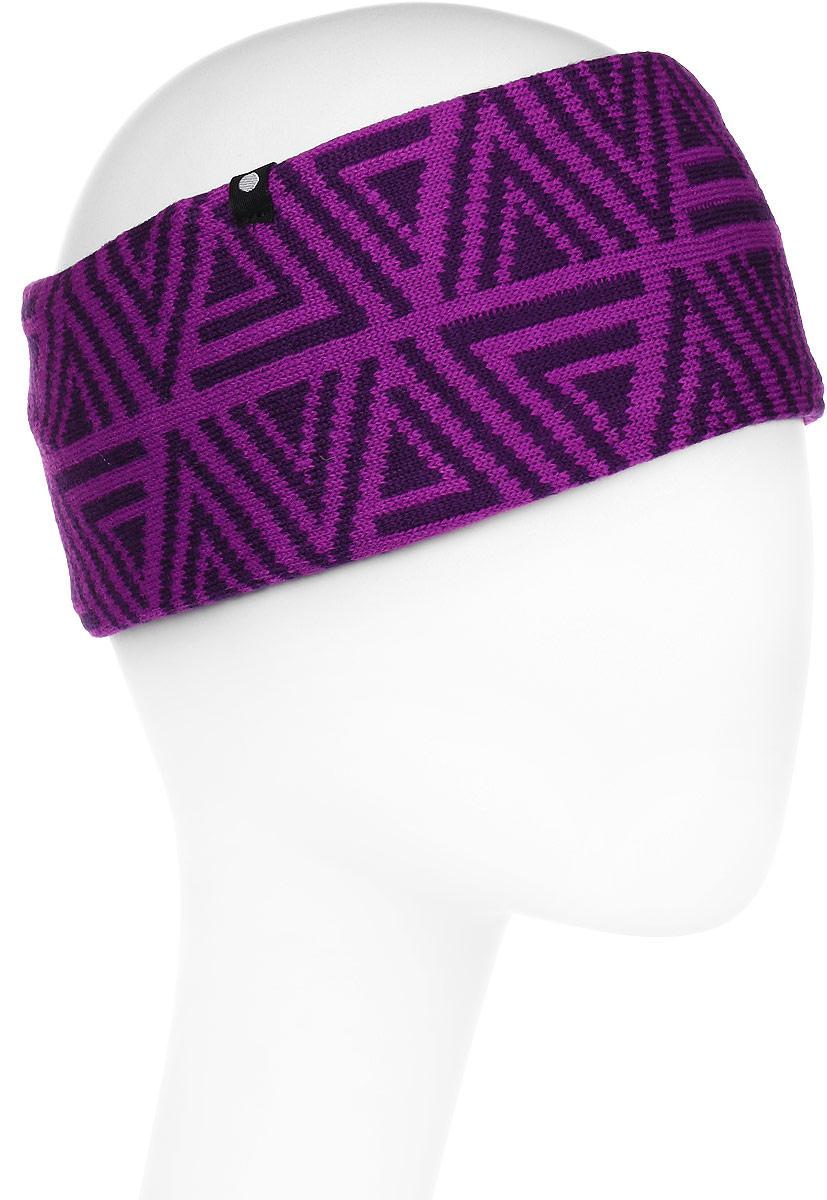 Повязка на голову мужская Icepeak, цвет: фиолетовый. 858842579IV-750. Размер универсальный858842579IV-750