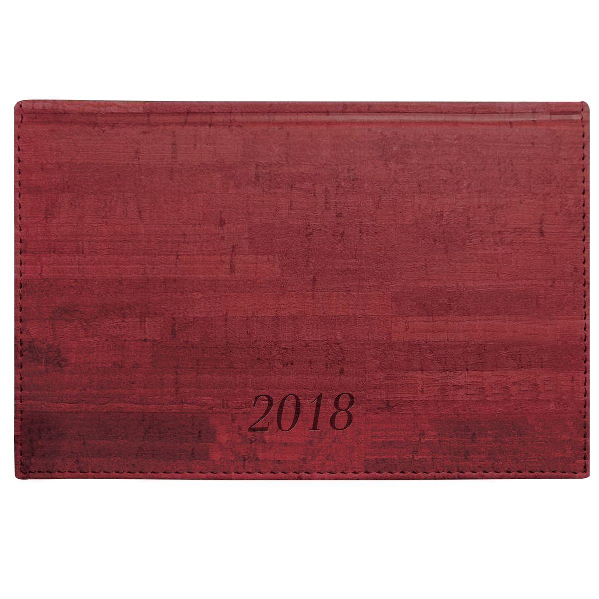 Brauberg Еженедельник датированный Wood 2018 формат А6 цвет бордо128231Формат - А6 (95х155 мм).Датированный 2018 годом.Обложка - благородное дерево.Внутренний блок - белая бумага (офсет), 70 г/м2.64 листа.Печать в две краски.Прошит по периметру.Закладка-ляссе.Обширный справочный материал.Обложка подходит для горячего тиснения и тиснения фольгой.Цвет - бордовый.