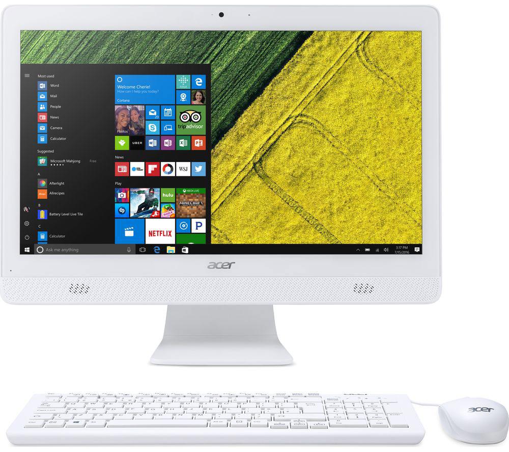 Zakazat.ru Acer Aspire C20-720, White моноблок (DQ.B6ZER.008)