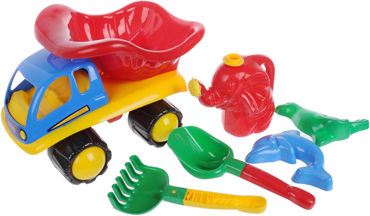 Hemar Набор для песочницы Автотюльпан 6 предметов набор для песочницы battat ready beach bag с машинкой 11 предметов