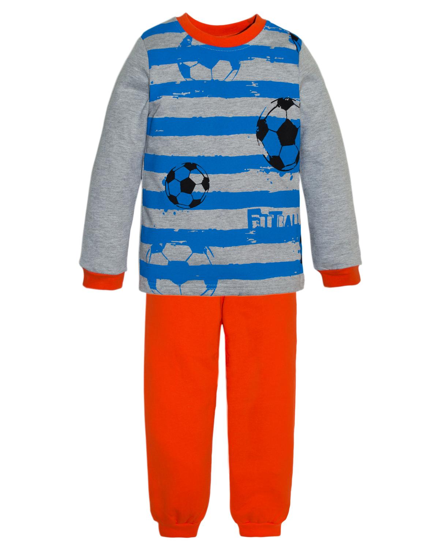 Пижама для мальчиков Lets Go, цвет: красный. 9225. Размер 929225