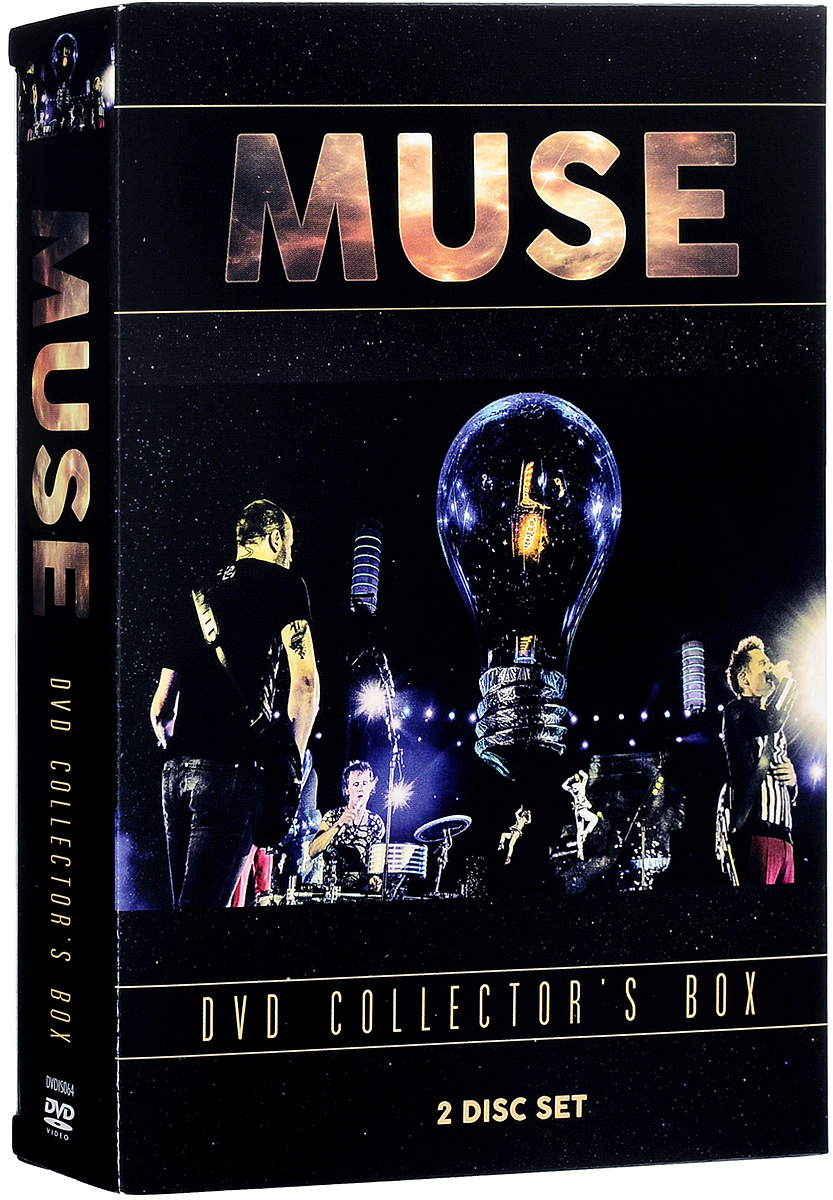 Muse: Collector'S Box (2 DVD) видеодиски нд плэй экстрасенсы dvd video dvd box