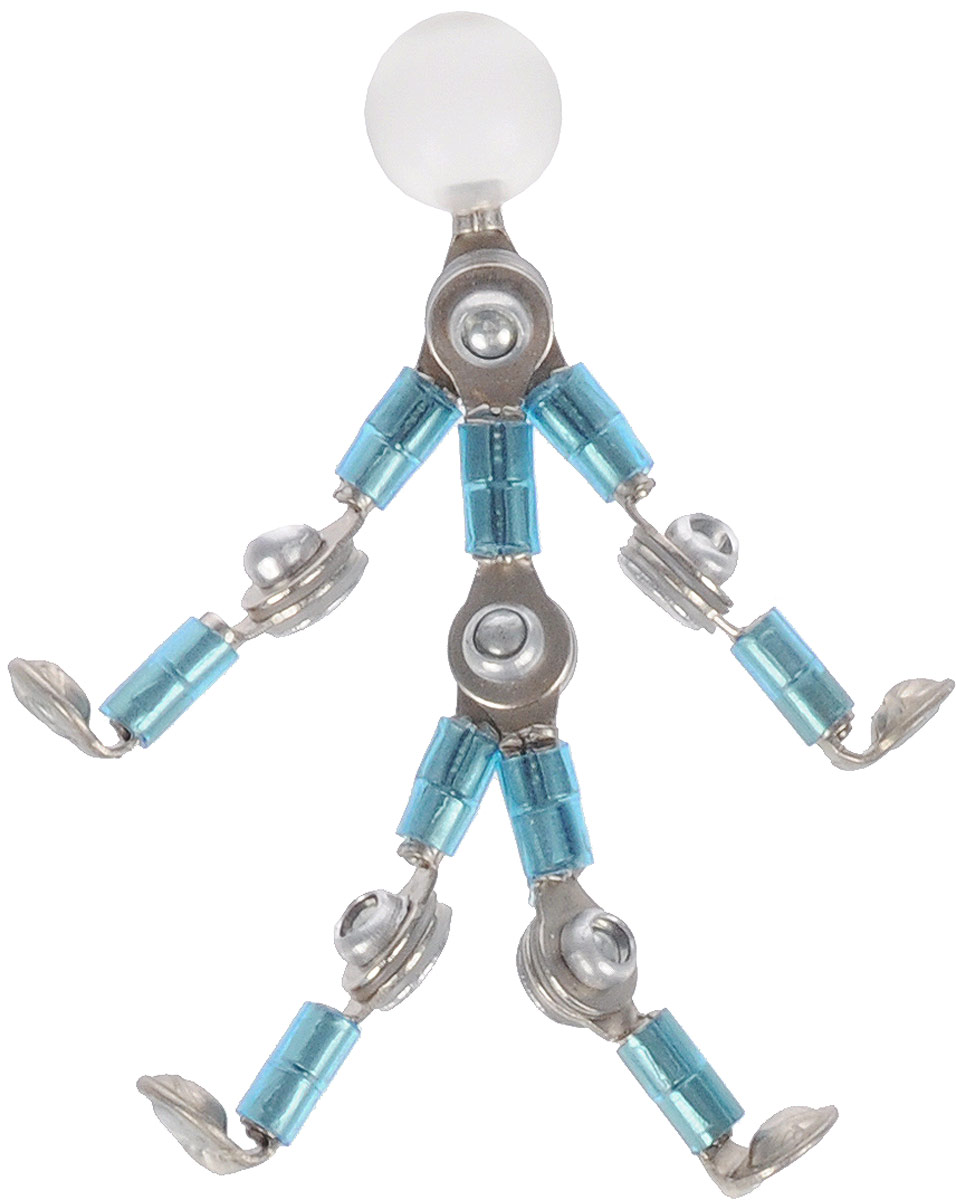 NeoCube Фигурка магнитная Акробот цвет бирюзовый