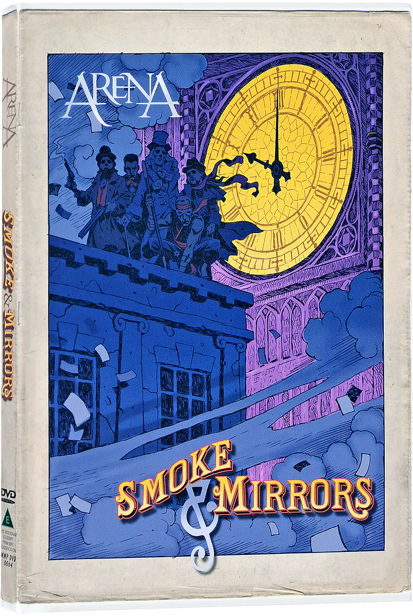 Arena: Smoke And Mirrors (DVD + CD) nomadic state of mind® вьетнамки
