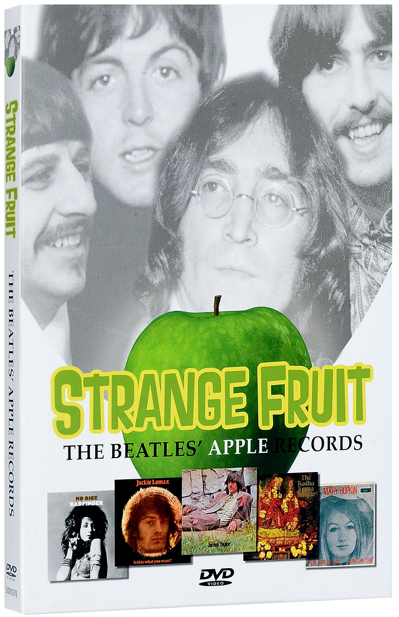 In 1968, under a haze of publicity, The Beatles opened their collective door to all manner of musicians, writers, artists, film-makers, inventors, designers, freaks and more than a fair share of opportunist sharks. But, despite a hefty investment, little of substance was forthcoming from these assorted misfits outside of the music that emerged from one division of the potential empire; Apple Records.Even discounting those Apple platters that featured as artist the collective or individual names of the company's bosses, music that stands the test of time superbly was released under the stamp of this enterprise. Music which remains available still and both popularand exciting more than 40 years after the majority of it was produced.Strange Fruit - The Beatles' Apple Records is the story of a record label which came to exist under extraordinary circumstances, produced extraordinary records and was operated under extraordinary guidelines.Featuring new interviews with former label M.dfrony Bramwell, members of Badfinger, The Iveys and Elephant's Memory, Jackie Lomax, Brute Force and David Peel, plus musician and Beatles expert Chris Ingham, author and journalist Mark Paytress and Apple biographer Stefan Granados.