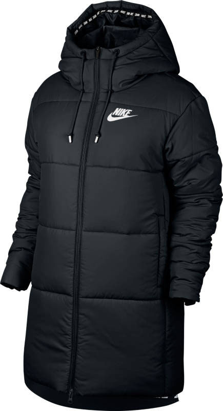 Куртка женская Nike W Nsw Syn Fill Prka, цвет: черный. 889274-010. Размер L (48/50) блузка женская mexx цвет молочный mx3002363 wm blg 010 размер l 48 50