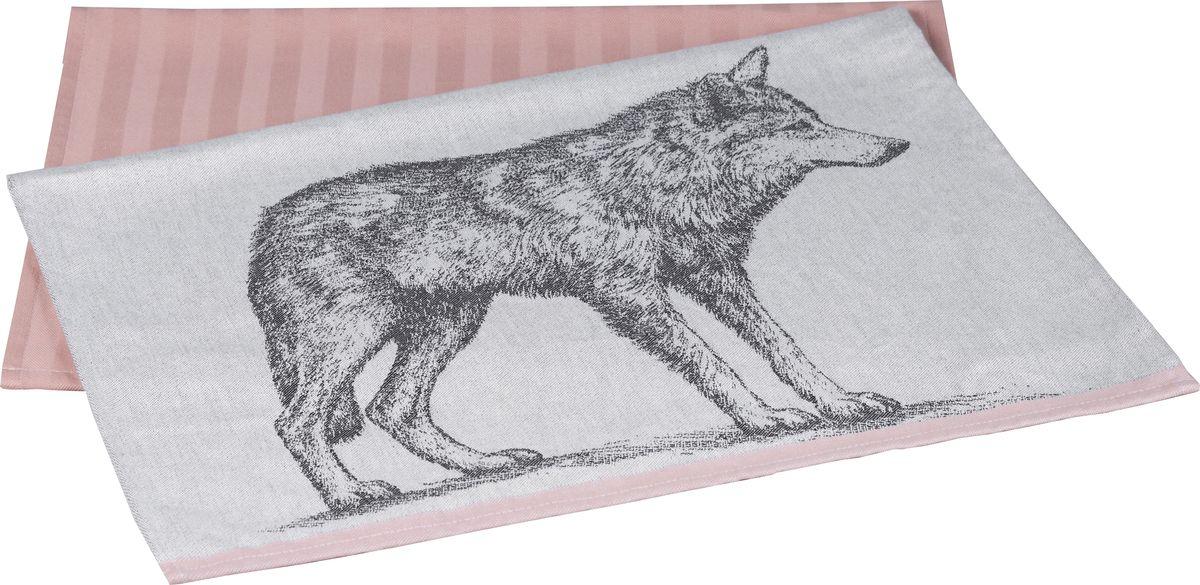 Полотенце кухонное Hobby Home Collection Wolf, цвет: лиловый, 50 x 70 см, 2 шт1501001627Полотенца марки HOBBY HOME COLLECTION уникальны и разрабатываются эксклюзивно для данной марки. При создании коллекции используются самые высокотехнологичные ткацкие приемы. Дизайнеры марки украшают вещи изысканным декором. Коллекция линии соответствует актуальным тенденциям, диктуемым мировыми подиумами и модой в области домашнего текстиля.