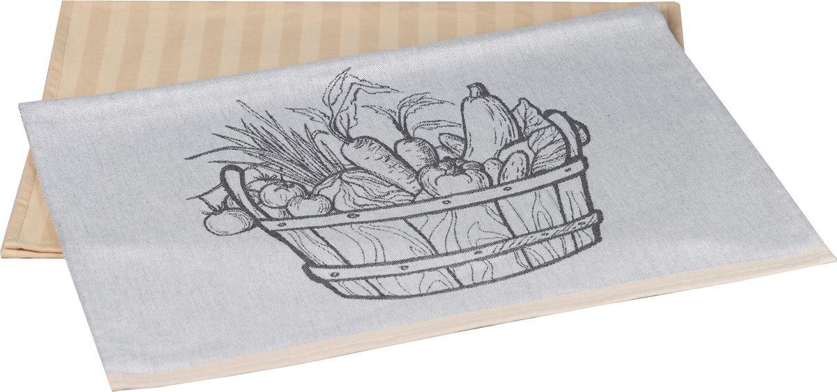 Полотенце кухонное Hobby Home Collection Vegetables, цвет: бежевый, 50 x 70 см, 2 шт1501001631Полотенца марки HOBBY HOME COLLECTION уникальны и разрабатываются эксклюзивно для данной марки. При создании коллекции используются самые высокотехнологичные ткацкие приемы. Дизайнеры марки украшают вещи изысканным декором. Коллекция линии соответствует актуальным тенденциям, диктуемым мировыми подиумами и модой в области домашнего текстиля.