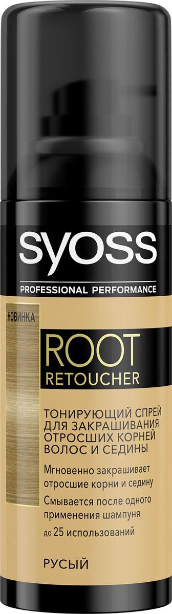 Syoss Root Retoucher Тонирующий спрей для закрашивания отросших корней и седины оттенок Русый093450202Тонирующий спрей для отросших корней волос и седины. Мгновенно закрашивает отросшие корни и седину. Прост в использовании. Результат сохраняется до первого применения шампуня.