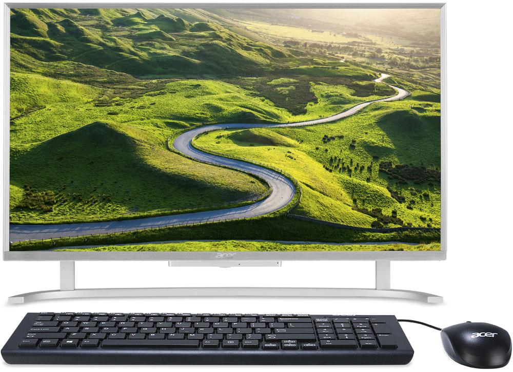 Acer Aspire C22-720, Silver моноблок (DQ.B7AER.006)DQ.B7AER.006Acer Aspire C22-720 - непревзойденно компактный компьютер с тонким корпусом, который позволит собраться всей семье, чтобы разделить впечатления.Наслаждайтесь просмотром контента на мониторе с большой диагональю экрана и элегантным дизайном без рамки.Съемная вебкамера позволит провести для ваших друзей и родных виртуальную экскурсию по дому.Выполняйте повседневные задачи, смотрите видео и работайте в Интернете с комфортом благодаря процессору Intel.Разделите впечатления с близкими и друзьями благодаря IPS-экрану с разрешением FHD и реалистичной цветопередачей. Разрешение 1920x1080 и соотношение сторон 16:9 делают изображение эффектным и реалистичным. Мелкие детали и текст выглядят четкими.В результате коррекции оттенка и яркости цвета с помощью технологии BlueLightShield снижается излучение потенциально опасного синего света.Благодаря технологии Flickerless питание стабильно подается на дисплей и экран не мигает.Благодаря продуманному расположению беспроводной антенны 802.11ac обеспечивается надежный сигнал беспроводного подключения.Точные характеристики зависят от модели.Компьютер сертифицирован EAC и имеет русифицированную клавиатуру и Руководство пользователя.
