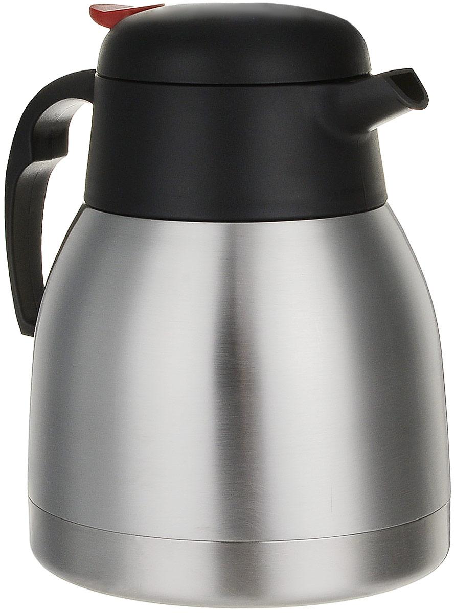 Чайник Koto, автомобильный, с функцией термоса, цвет: стальной, 0,9 л12V-607Автомобильный чайник Koto работает от гнезда прикуривателя 12В. Чайник с удобной ручкой, с фиксируемой крышкой. Чайник можно использовать для холодных или горячих продуктов. Чайник выполнен из высококачественной нержавеющей стали. изолированная вакуумная колба сохраняет жидкость холодной или горячей в течение многих часов. Электрический термоэлемент нагревает 0,9 литра жидкости до температуры 100°С за 15 минут. Время нагрева варьируется в зависимости от величины напряжения в бортовой сети автомобиля. Такой чайник может стать отличным подарком для любого автомобилиста! Высота чайника: 18,5 см. Диаметр дна: 14 см. Объем: 0,9 л. Длина шнура: 1,3 м. Напряжение: 12В. Мощность: 180 Ватт.