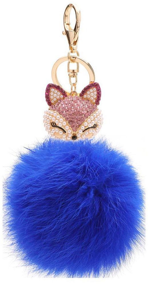 Vebtoy Брелок-игрушка Пушистый котенок цвет синий