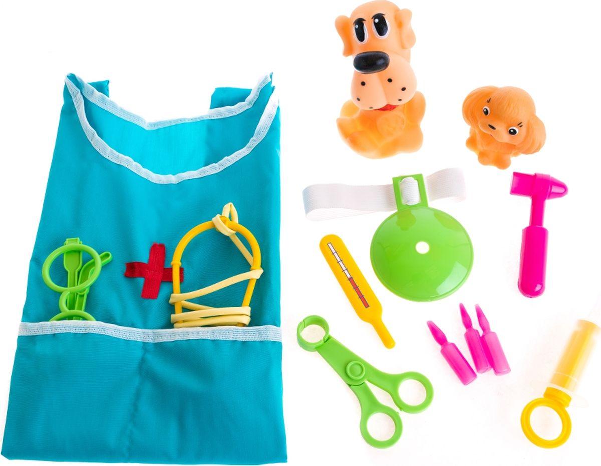 Тима и Тома Игровой набор Лечим зверят - Сюжетно-ролевые игрушки