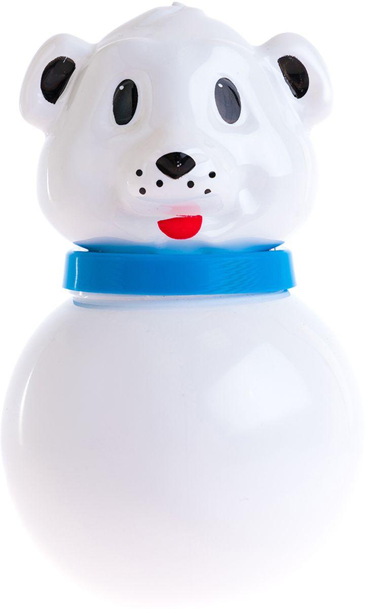 Пластмастер Неваляшка Белый медведь