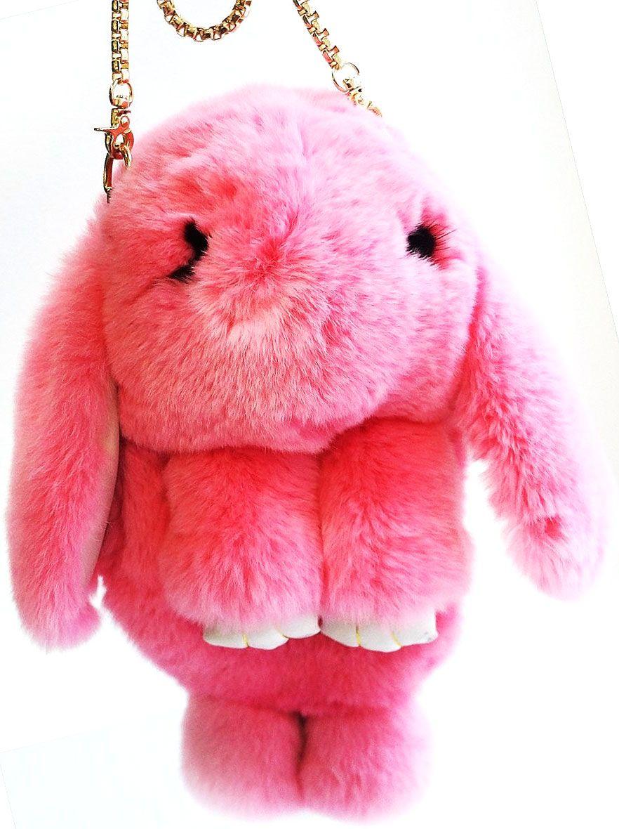 Vebtoy Рюкзак дошкольный Пушистый кролик цвет розовыйРК-607Рюкзак в виде красивого пушистого зайчика из искусственного меха является отличным способом выделиться и подчеркнуть свою индивидуальность и хороший вкус.Такую сумочку можно носить через плечо, а продев металлический ремешок через среднее кольцо-держатель, сумочка превращается в рюкзак.При прикосновении к такому аксессуару обладатель попадает в мир великолепной нежности. Очень мягкий на ощупь мех красивого цвета разнообразит современный гардероб, а также сделает образ полностью завершенным.Такой рюкзак не оставит обладателя равнодушным и без пристального внимания со стороны окружающих!Лапки кролика и обратная сторона ушек изготовлены из эко-кожи.Такой пушистый рюкзачок идеально подойдет в качестве подарка, как маленькой девочке, так и юной моднице.