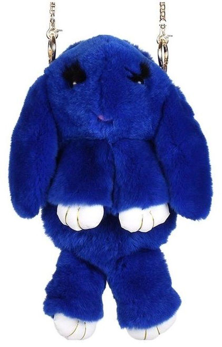 Фото Vebtoy Рюкзак дошкольный Пушистый кролик цвет синий