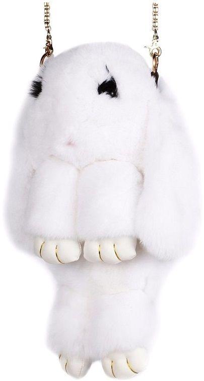 Фото Vebtoy Рюкзак дошкольный Пушистый кролик цвет белый