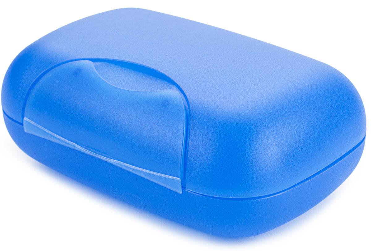 Мыльница Berossi Voyage, цвет: джинс, 12 х 8 х 4,5 смАС 21736000Практичная мыльница Voyage – это не только предмет обихода, но и незаменимый спутник в различных поездках. Матовый пластик с легкой шероховатостью не скользит в руках, а прочно закрывающаяся крышка надежно сохраняет мыло внутри.