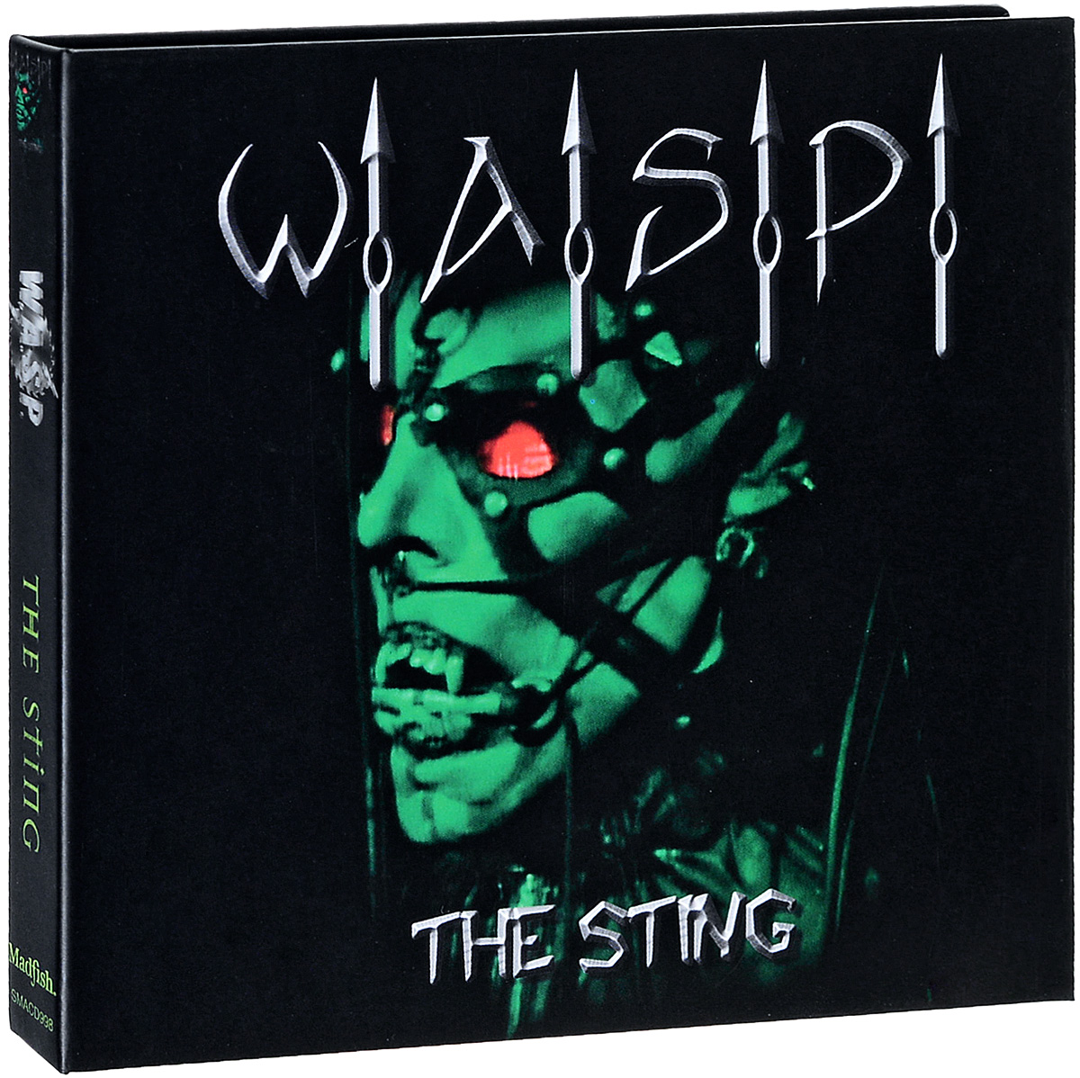 W.A.S.P. - The Sting (Live at the Key Club, L.A.) (DVD + CD) dvd диск igor moisseiev ballet live in paris 1 dvd